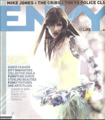 Envy Magazine Cover Richard Krall Photography