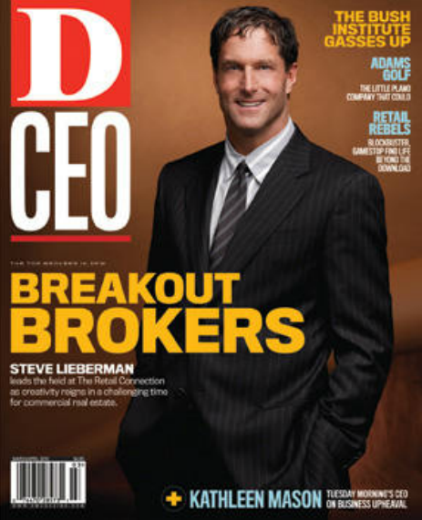 D CEO Magazine Cover Steve Lieberman, Dan Sellers Photography
