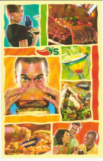 Chili's Menu – Stewart Cohen Photography