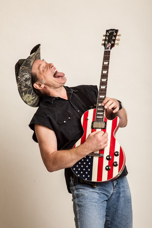 Ted Nugent Ad, Photography by Danny Turner