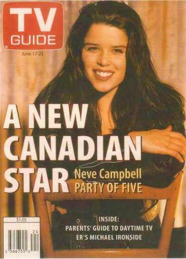 TV Guide Cover – Neve Campbell